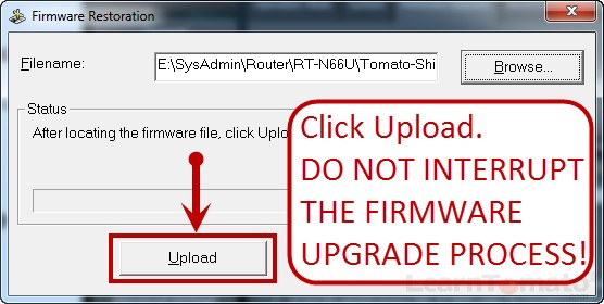 How to Flash a Router with Tomato Firmware (Shibby Mod)
