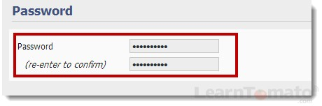How to setup a router password