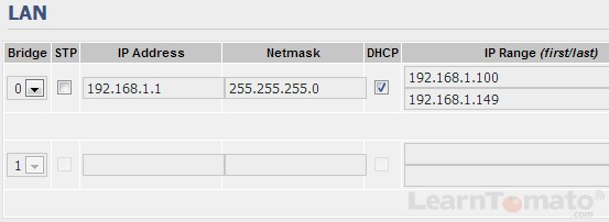 Configure the IP address of the host router.