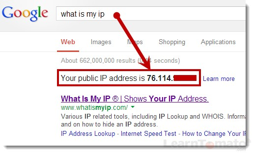 Protect IP address using public internet access